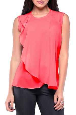 Блуза REBECCA TATTI. Цвет: коралловый