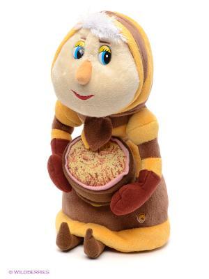 Мягкая игрушка Баба Капа Мульти-пульти. Цвет: коричневый, светло-серый, желтый