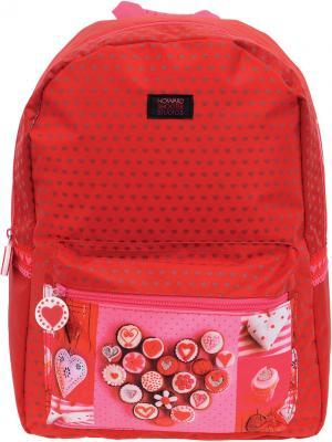 Рюкзак школьный PROFF. Цвет: красный