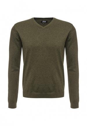 Пуловер Fresh Brand. Цвет: зеленый