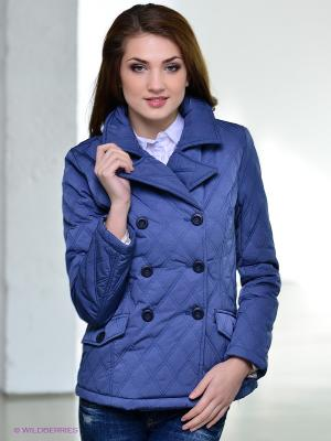 Пальто Conver Vintage. Цвет: синий