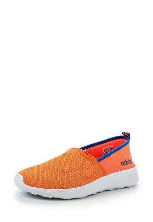 Слипоны adidas Neo. Цвет: оранжевый