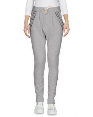 Повседневные брюки TILL.DA. Цвет: светло-серый
