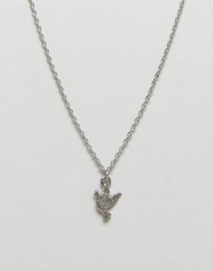 Nylon Ожерелье. Цвет: серебряный