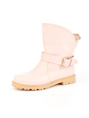 Ботинки LaBella Vita. Цвет: розовый