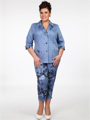 Жакет Silver-String. Цвет: голубой
