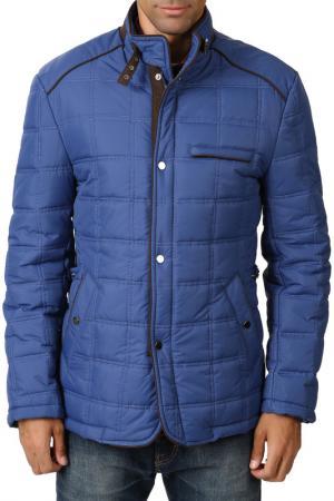 Куртка Dewberry. Цвет: синий