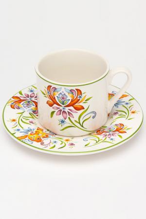 Чашка с блюдцем 0,2 л IMARI. Цвет: мультицвет