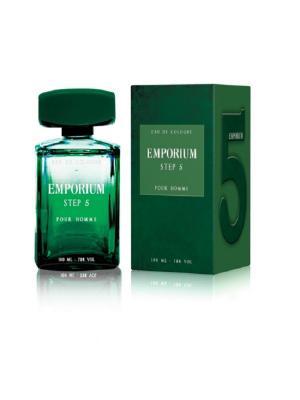 Step 5 men EDC 100ml Brocard Parfums. Цвет: зеленый