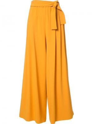 Брюки-палаццо Tome. Цвет: жёлтый и оранжевый