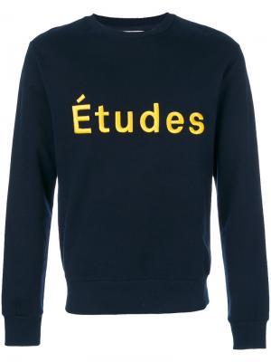 Свитер Étoile Etudes Études. Цвет: синий