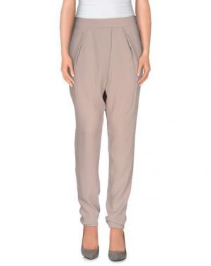 Повседневные брюки FALCON & BLOOM. Цвет: голубиный серый