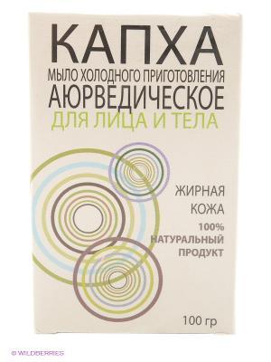 Аюрведическое мыло холодного приготовления для лица и тела Капха  жирной кожи ANARITI. Цвет: бежевый