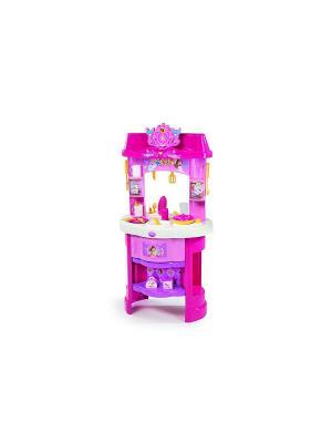 Кухня Принцессы Дисней, 48*32*90см, 1/3 Smoby. Цвет: розовый