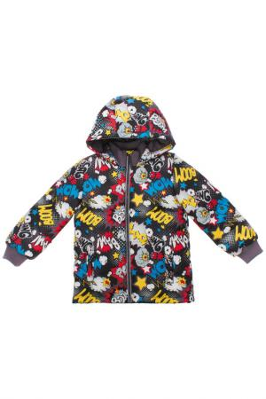 Куртка PlayToday. Цвет: коричневый
