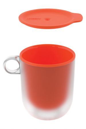 Набор из 2 кружек Joseph. Цвет: оранжевый