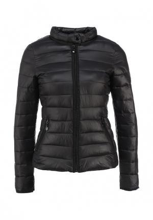 Куртка утепленная Minority. Цвет: черный