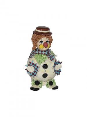Статуэтка Клоун Zampiva. Цвет: белый, зеленый, коричневый