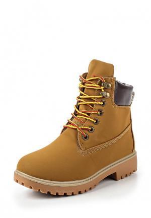 Ботинки WS Shoes. Цвет: коричневый