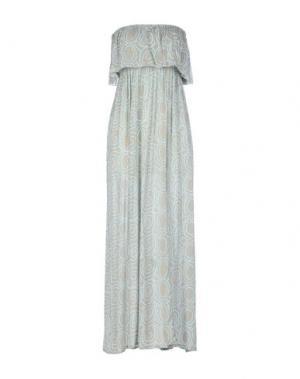 Платье длиной 3/4 COOLCHANGE. Цвет: серый