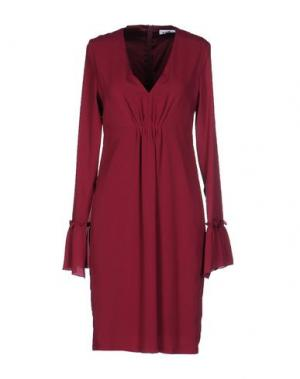 Платье до колена KATE. Цвет: пурпурный