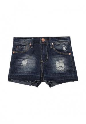 Шорты джинсовые Modis. Цвет: синий