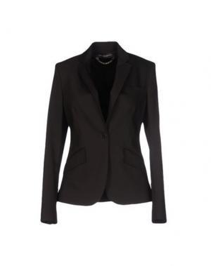Пиджак CARLA MONTANARINI. Цвет: темно-коричневый