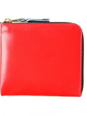 Бумажник Super Fluo Comme Des Garçons Wallet. Цвет: жёлтый и оранжевый