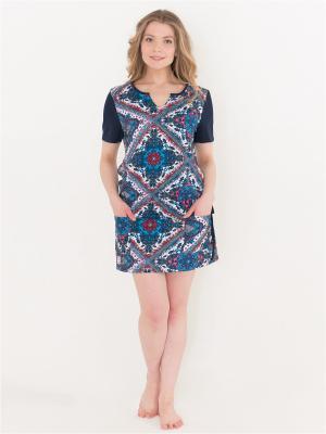 Платье Лори. Цвет: синий