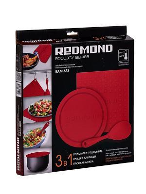 Набор силиконовых аксессуаров RAM-SS3 REDMOND. Цвет: красный