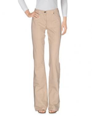 Джинсовые брюки HEAVEN TWO. Цвет: бежевый
