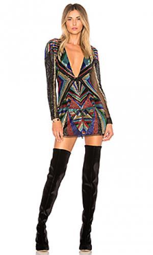 Платье bowie X by NBD. Цвет: черный