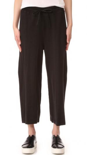 Укороченные брюки с широкой Vince. Цвет: голубой
