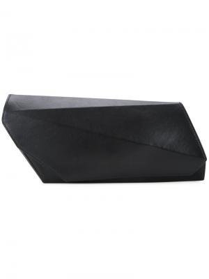 Клатч Angular Lamat. Цвет: чёрный