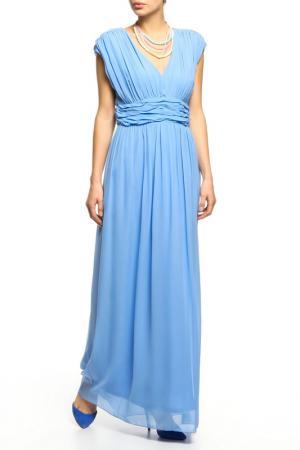 Платье BGN. Цвет: голубой