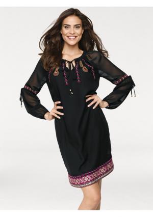 Платье Rick Cardona. Цвет: цветной