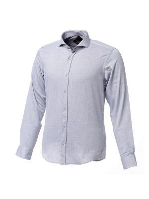 Рубашка BIRIZ. Цвет: серебристый, светло-серый