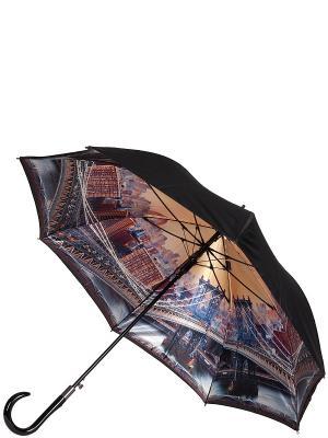 Зонт Eleganzza. Цвет: черный, бежевый, коричневый