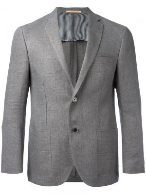Two button blazer Corneliani. Цвет: серый