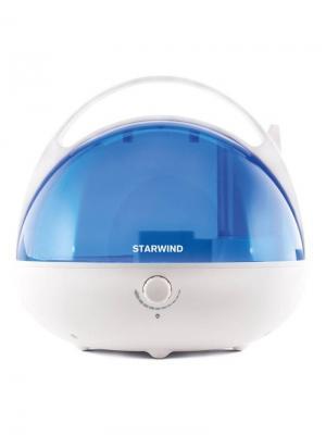 Увлажнитель воздуха Starwind SHC2416 25Вт (ультразвуковой) белый/синий. Цвет: белый