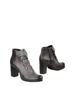 Полусапоги и высокие ботинки PIERRE DARRÉ. Цвет: серый