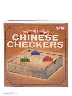Китайские шашки, мини Tactic Games. Цвет: коричневый, зеленый, красный, серо-коричневый, синий
