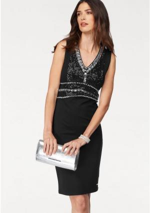Платье BRUNO BANANI. Цвет: черный