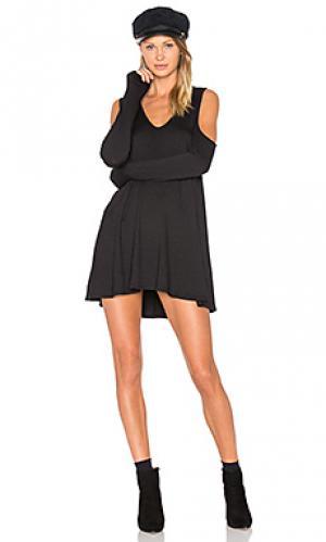 Платье fenny Riller & Fount. Цвет: черный