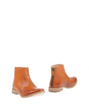 Полусапоги и высокие ботинки SARTORI GOLD. Цвет: желто-коричневый
