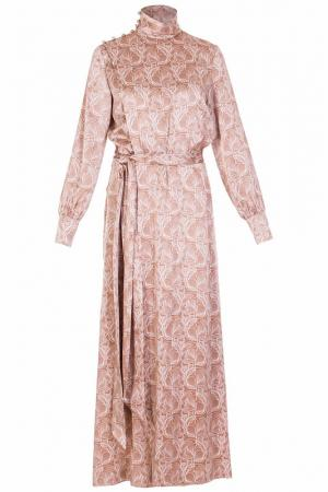 Платье Thomas Wylde. Цвет: бежевый