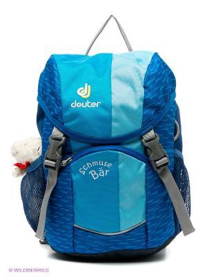 Рюкзак Deuter. Цвет: синий, голубой, черный