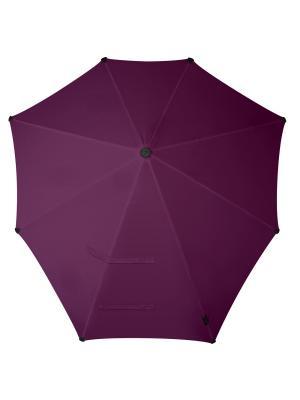 Зонт-трость senz Original marble mauve. Цвет: фиолетовый