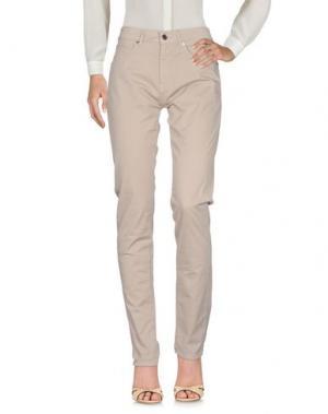 Повседневные брюки AQUASCUTUM. Цвет: бежевый