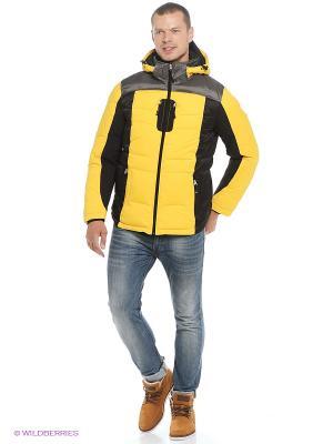 Куртка EVOLUTION. Цвет: желтый